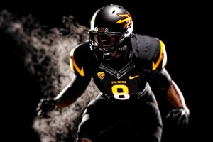 Arizona State went all-black in a game against Missouri earlier in the season. A new look, new team, revamped!